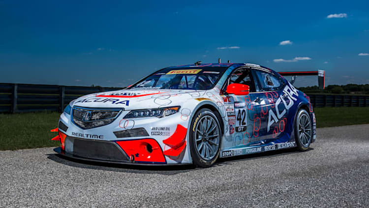 We drive the Acura TLX-GT racecar