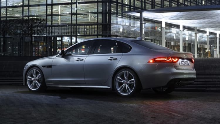 Jaguar's XF diesel isn't just fuel efficient, it's the cheapest XF available