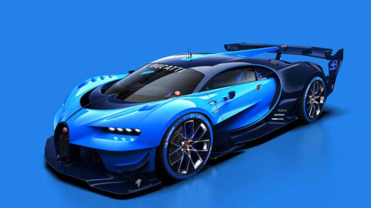 Bugatti Vision Gran Turismo brings racing past into the future