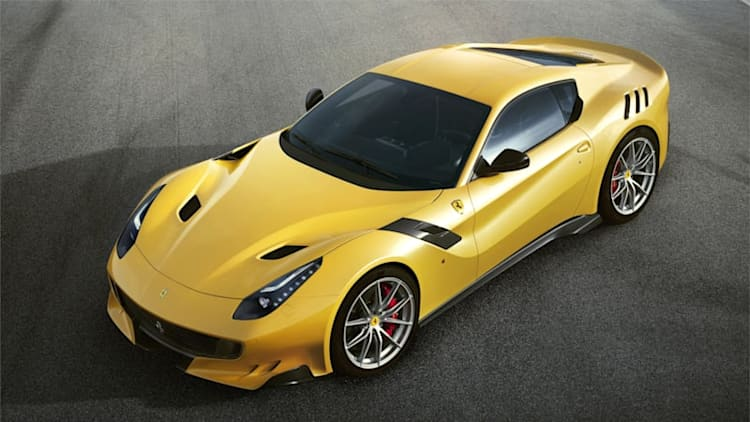 Ferrari unwraps radical new F12 TdF