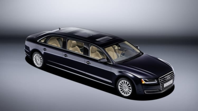 Audi stretches the A8L even more for one special European buyer