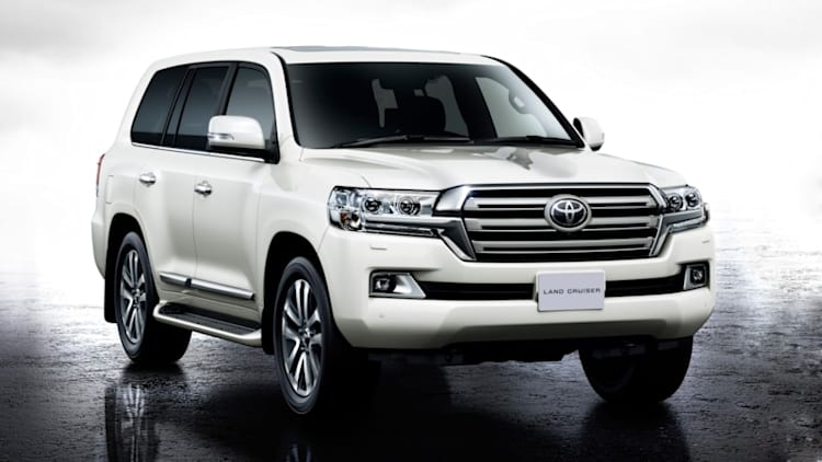 Toyota reveals updated Land Cruiser in Japan