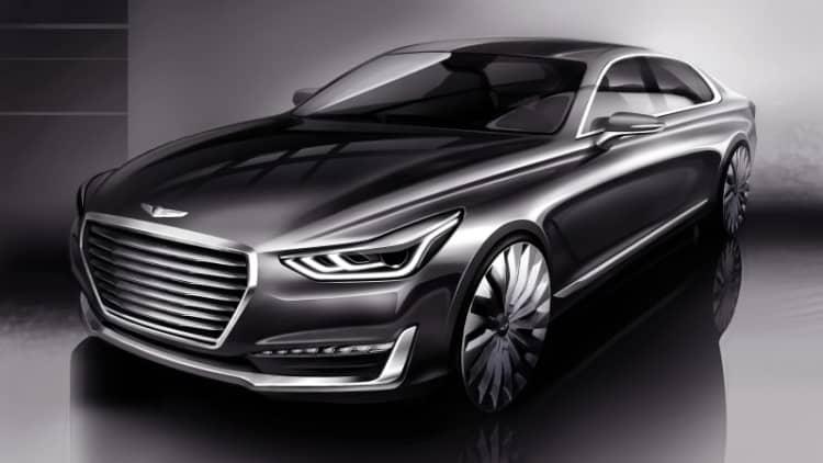 Hyundai previews new Equus-replacing Genesis G90