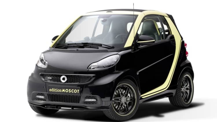 Smart Fortwo Moscot may be final swan song for outgoing city car