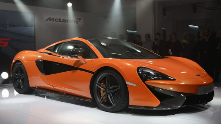 McLaren 570S kicks off new Sport Series