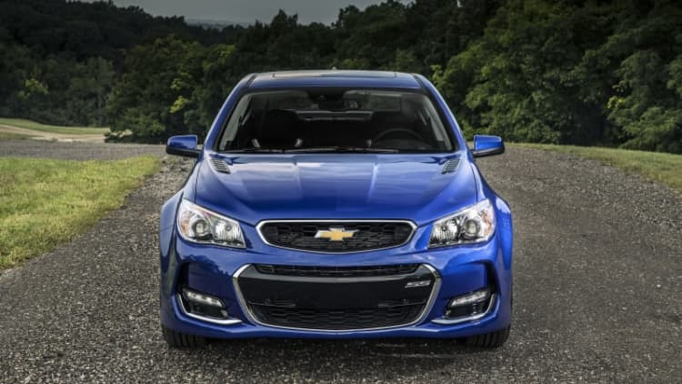 2016 Chevy SS gets new face, clears throat