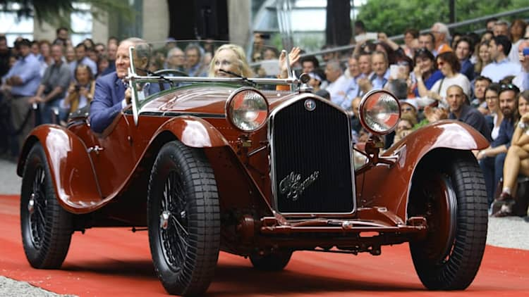 1932 Alfa Romeo 8C 2300 Spider wins top prize at Villa d'Este