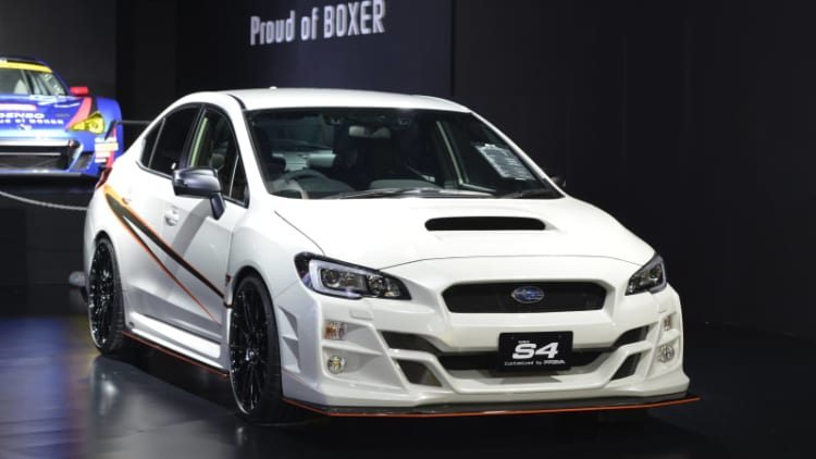Subaru brings sportier XV, Legacy and Levorg concepts to Tokyo Auto Salon