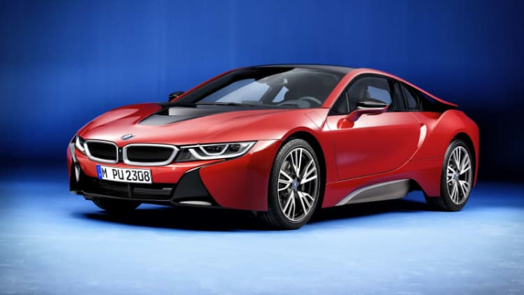 Protonic Red BMW i8 will bow in Geneva