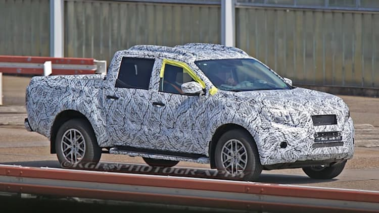 Mercedes' midsize pickup looks good, probably won't come to US