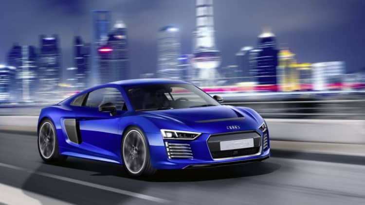 Audi reveals R8 E-Tron Piloted Driving concept at CES Asia
