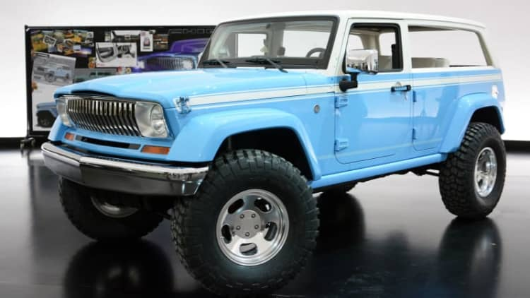 Hands on with the concepts of the Moab Easter Jeep Safari