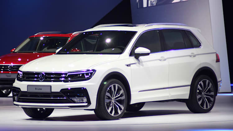 Volkswagen Tiguan arrives with chiseled looks, GTE plug-in model [w/video]
