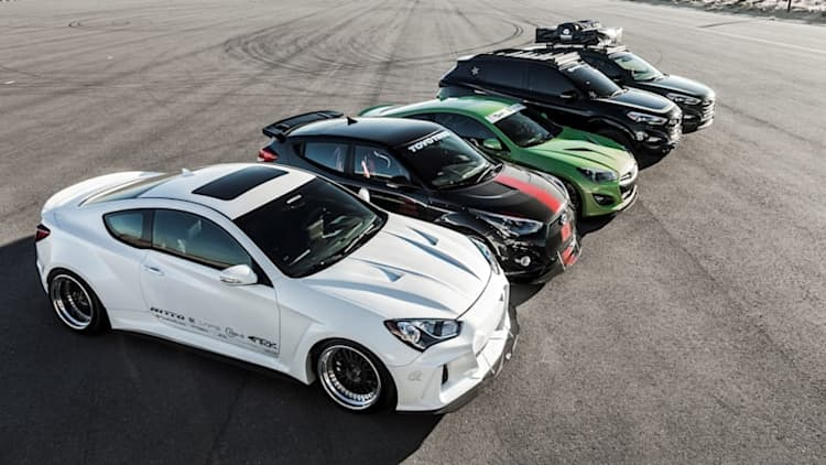 Hyundai shows off six custom creations in Vegas