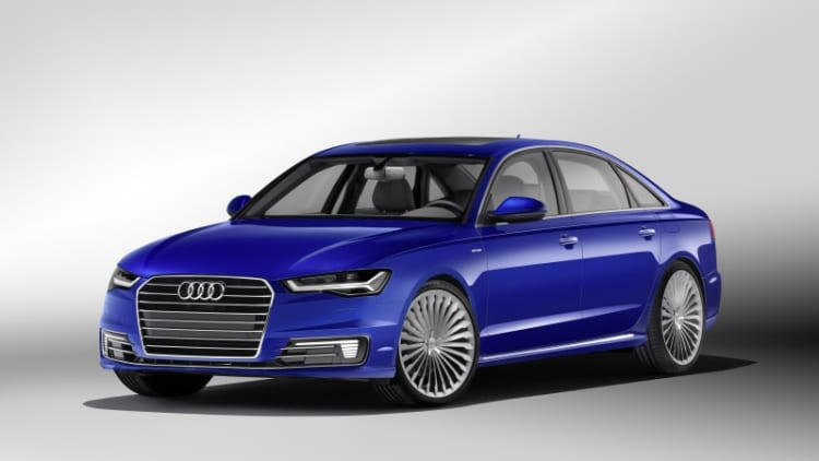 Audi rolls out new A6 L E-Tron hybrid for China