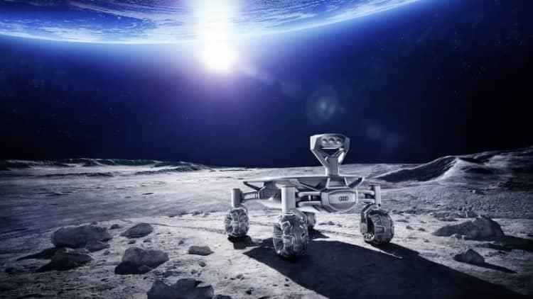Audi Quattro tech shoots for the moon