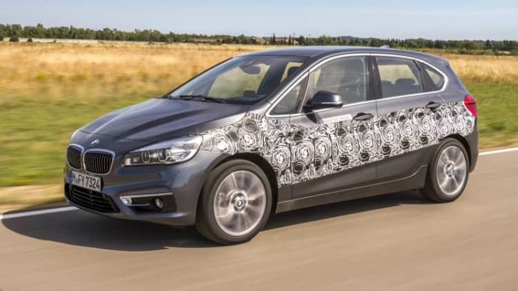 BMW electrifies the 2 Series Active Tourer with a plug-in prototype