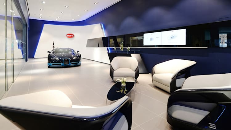 Bugatti opens two new US showrooms with no new cars to sell