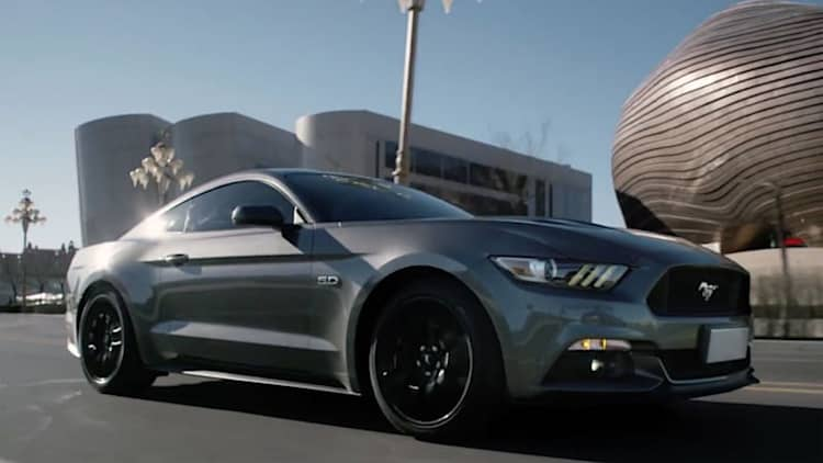 Ford honors Chinese Year of the Horse with Vaughn Gittin Jr., Mustang video