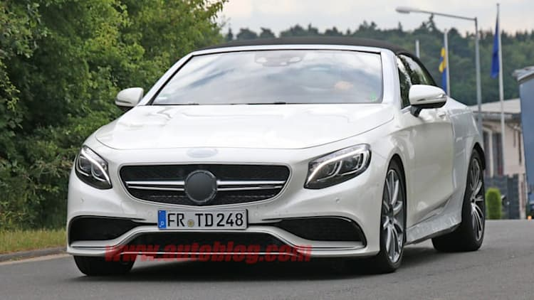 Mercedes spotted prepping new S63 AMG Cabrio