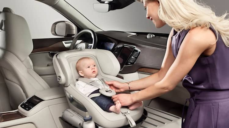 Volvo spoils your kid with XC90 Child Seat Concept [w/video]