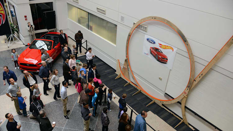 Ford sets world record for biggest Hot Wheels track loop
