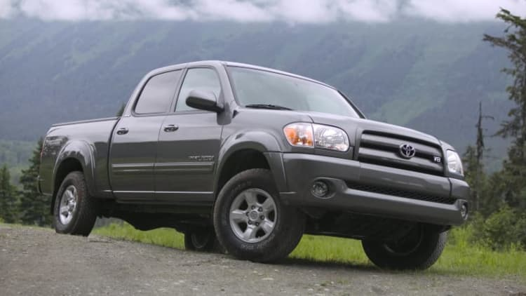 Toyota and Lexus recall models for inadvertent airbag deployment