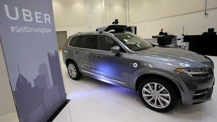 Uber admits self-driving Volvos have issues days after defying California regulators