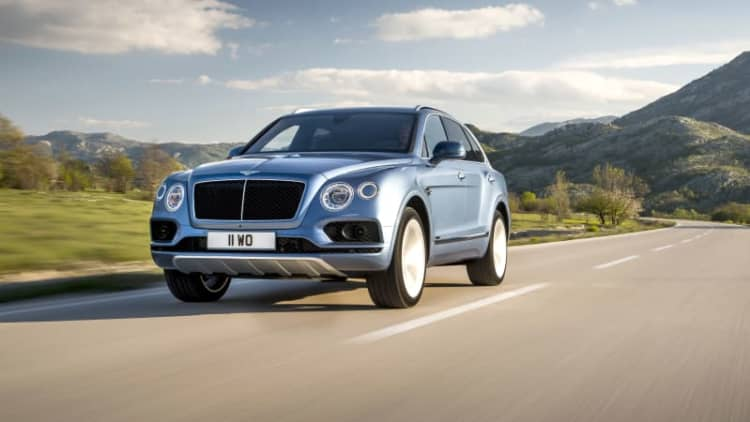 Bentley doubles down on diesels with a triple-charged Bentayga