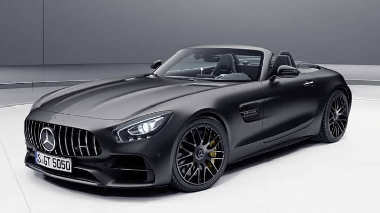 Mercedes-AMG is celebrating 50 years with three special edition models