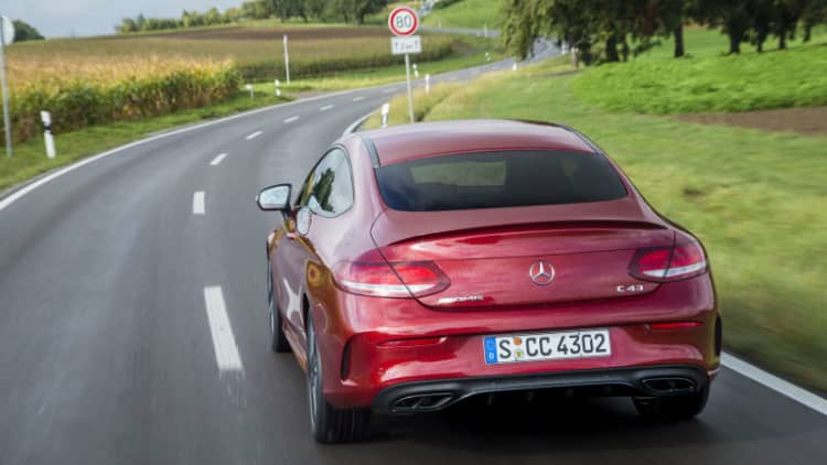 AMG's gateway drug | 2017 Mercedes-AMG C43 Coupe Quick Spin