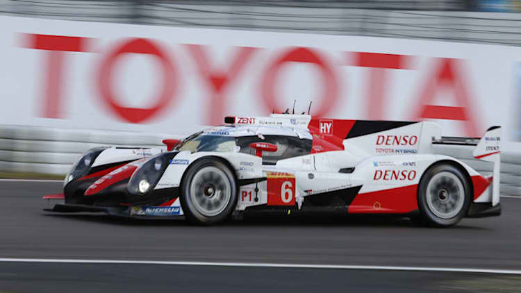 Toyota adds a third car to Le Mans lineup