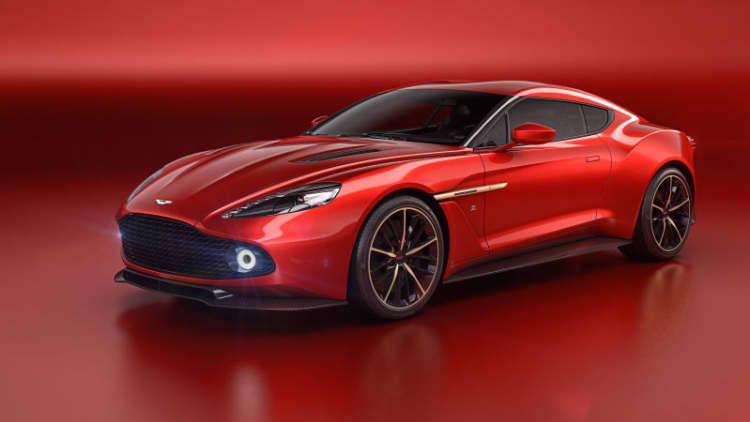 Aston Martin Vanquish Zagato set to dazzle Villa d'Este
