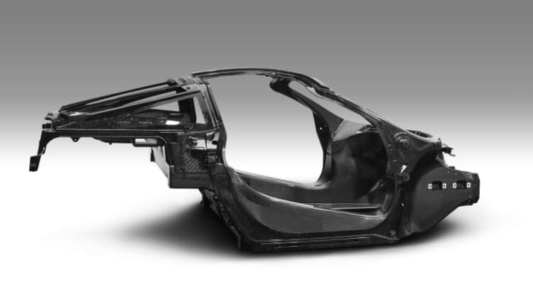 Here's the chassis for McLaren's 650S replacement, full car coming soon