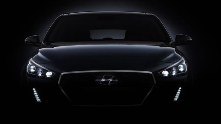 Next Hyundai Elantra GT hatchback previewed by i30 teaser