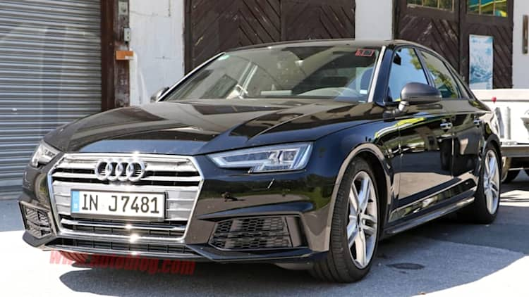2017 Audi S4 goes running naked through the Alps