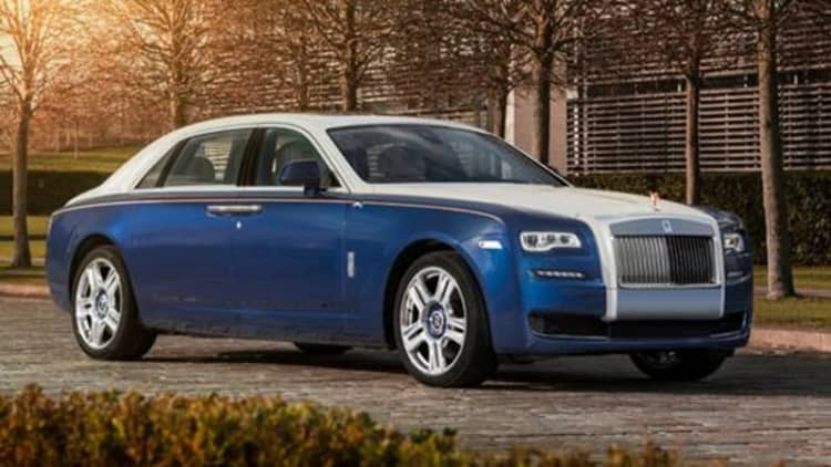 Rolls-Royce debuts super limited Ghost Mysore edition