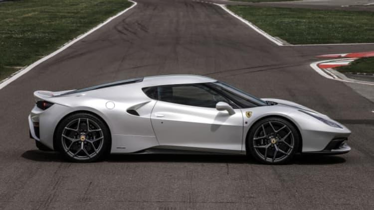 Ferrari reveals extra 'speciale' 458