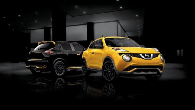 2016 Nissan Juke goes bumblebee with new Stinger editions