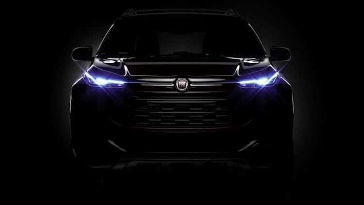 Fiat previews new Toro sport-utility pickup