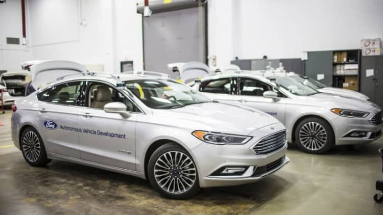 Ford's second-gen autonomous Fusion looks elegantly simple