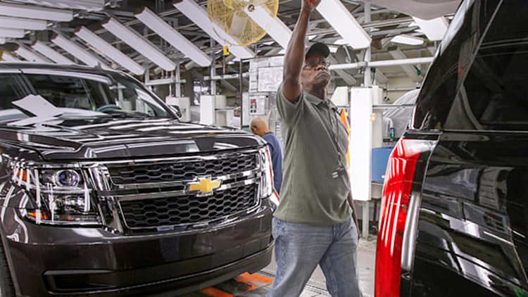 GM injects $1.4 billion into Arlington assembly plant