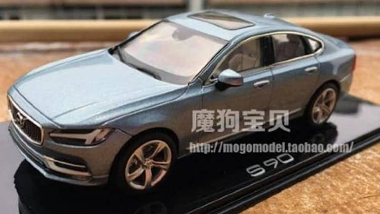 Volvo S90 revealed in die-cast form?