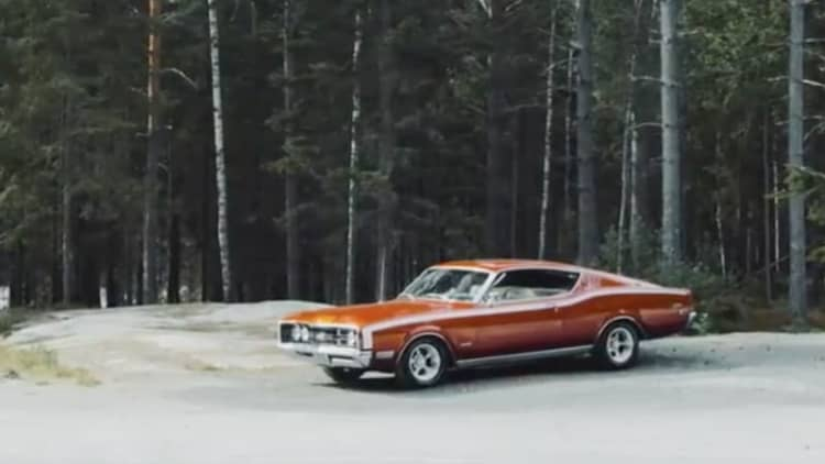 This Mercury Cyclone is an American Muscle Car in Norway