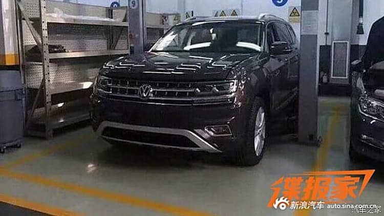 Clandestine mission secures photos of VW's Ford Explorer fighter