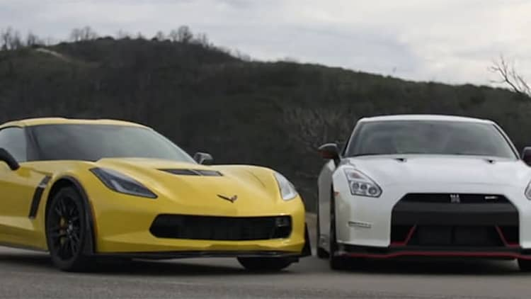Corvette Z06. Nissan GT-R Nismo. Motor Trend Head 2 Head. 'Nuff said.