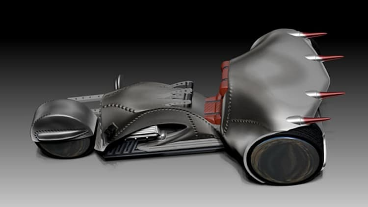 Shatner's Rivet motorcycle to enter limited production with CTS-V engine [w/video]