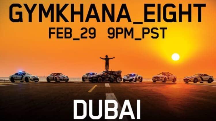 Ken Block's Gymkhana 8 to feature Dubai Police cars?