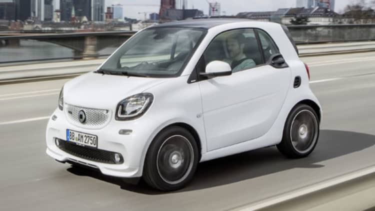 Brabus Smart range tuned all the way to 107 hp