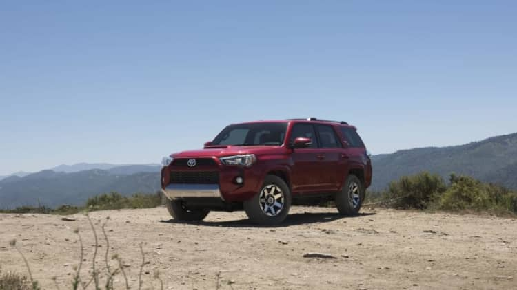 2017 Toyota 4Runner gets more off-road models